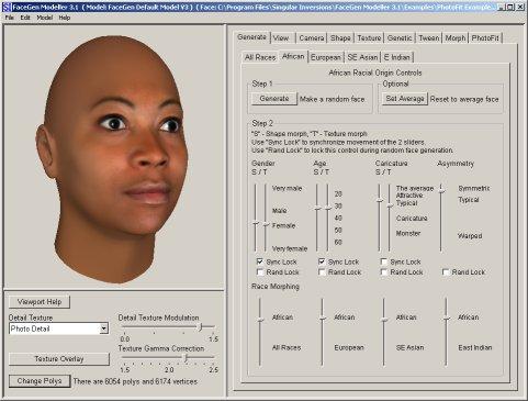برنامج لتغيير واللعب ملامح الوجه