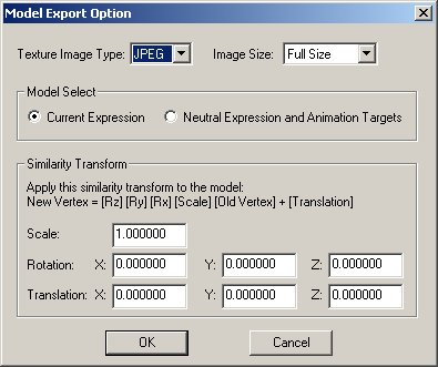 modeller_export