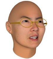 برنامج FaceGen v3.4.1 لتحويل صور اصدقائك من شاب لعجوز لامراءه وافريقى او حتى صينى Modeller_instant_2